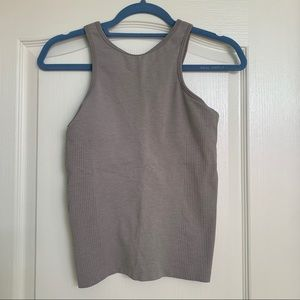 Lululemon grey halter top